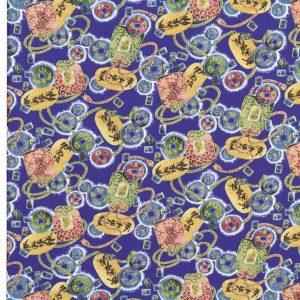 OC1447 - Oriental Print Fabrics