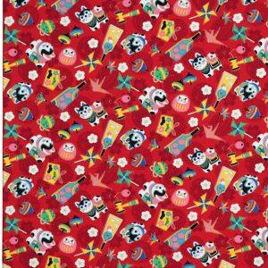 OC1501 - Oriental Print Fabrics