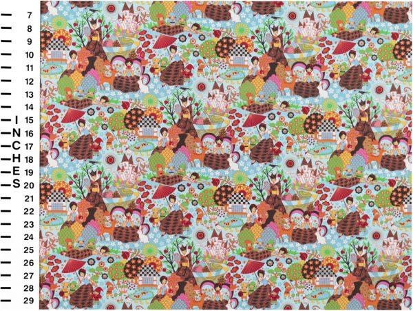 OC1517 - Oriental Print Fabrics
