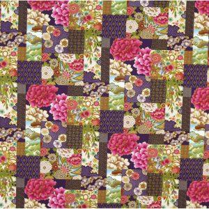 OC1542 - Oriental Print Fabrics