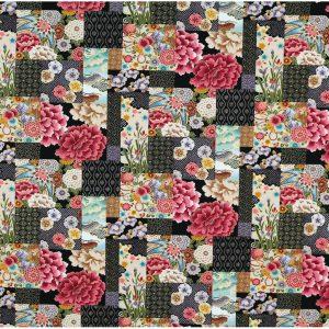 OC1545 - Oriental Print Fabrics